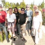 Die mitgereisten Gartenliebhaber - von Anfang an ein tolles Wir-Gefühl
