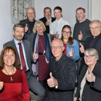 Das Team der SPD Liste 2020 mit Harald Kopp